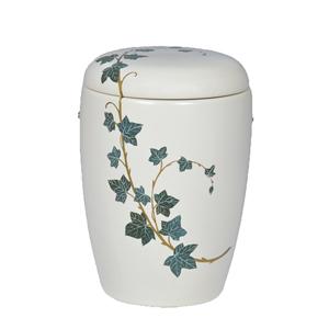 """Keramische urn """"Klimop"""""""