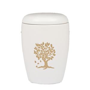 "Keramische urn ""Gouden Boom"""