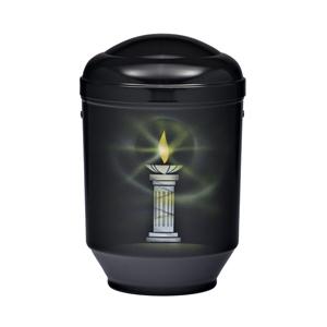 "Design urn ""Brandende kaars"""