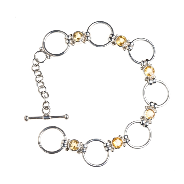 Citrien Armband Rond
