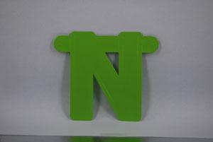 Letter N