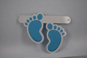 Figuur Blauwe voetjes