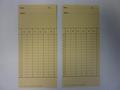 Klokkaarten voor Amano 520