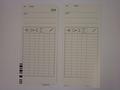 Gecodeerde stempelkaarten voor QR375