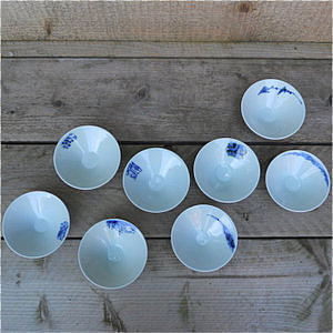 Blue Shanghai White <br />China Blue schaaltje</p>