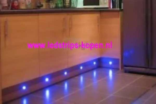 Led Verlichting Keuken Inbouw : LED inbouw spotjes – RGB of Warm wit ...
