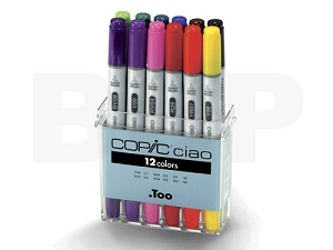 Copic \'Ciao\' set, 12 couleurs
