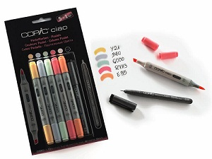 "Copic \'Ciao 5+1 set ""pastels\"""