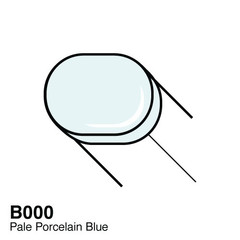 B000 Pale Porcelain Blue