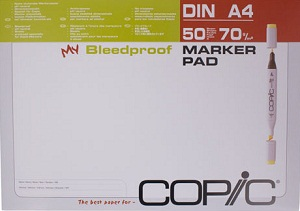 Copic Bloc Marqueurs A4