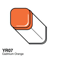 YR07 Cadmium Orange