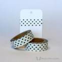 Black Polka Dots Washi Tape | WashiTapesNL www.washitapes.nl #washitape #maskingtape