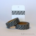 Black & Grey Chevron Washi Tape | WashiTapesNL www.washitapes.nl #washitape #maskingtape