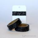 Black Script Washi Tape | WashiTapesNL www.washitapes.nl #washitape #maskingtape