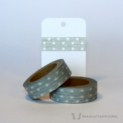 Grey Dotted Washi Tape | WashiTapesNL www.washitapes.nl #washitape #maskingtape
