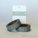 Grey With Love Washi Tape | WashiTapesNL www.washitapes.nl #washitape #maskingtape