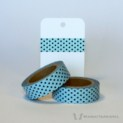 Blue Dotted Washi Tape | WashiTapesNL www.washitapes.nl #washitape #maskingtape