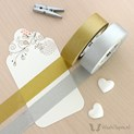 Gold & Silver mt Washi Tape Set - 2 x 15 meters | WashiTapesNL www.washitapes.nl #washitape #maskingtape