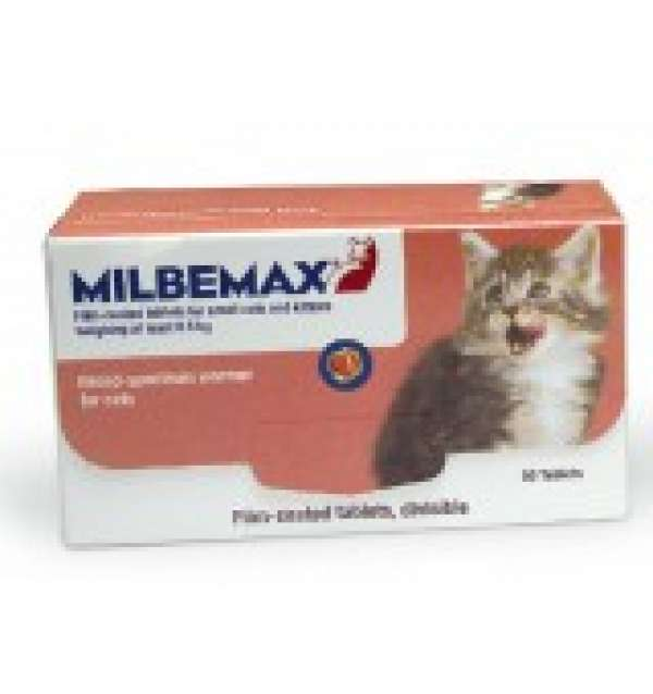 Milbemax ontwormings tabletten