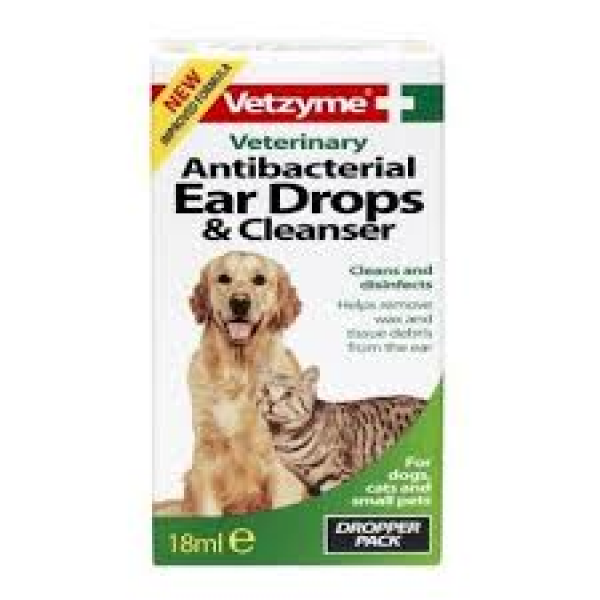 Vetzyme oordruppels