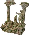 Tempel+beeld ruine