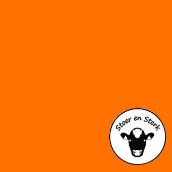 Oranje zonder print