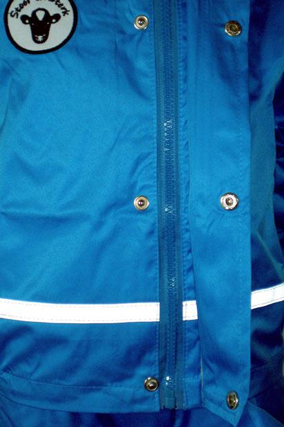 Regenjack Blauw