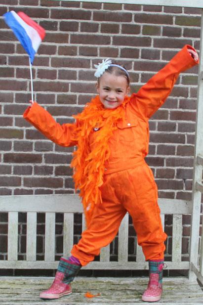 Oranje met trike