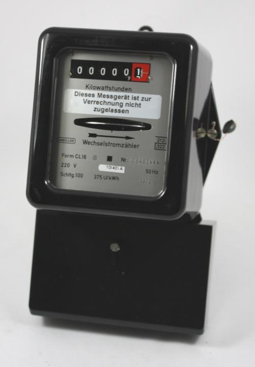 kWh-meter 1-fase gereviseerd