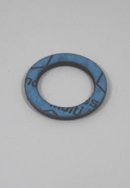 """Pakkingring fiber 1\""""(30x24x1,8mm) voor wartelmoer DN20 RVS ribbelbuizen, per 5 stuks"""