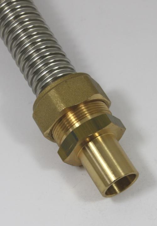 DN25 knelkoppeling - 22mm buisaansl.