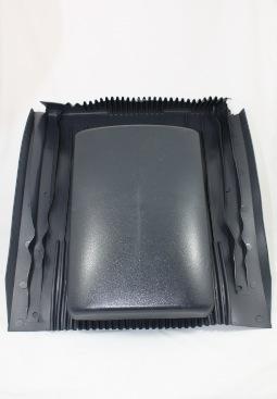 Klöber XL verlaagde ventilatie dakdoorvoer v. onder zonnepaneel, antraciet
