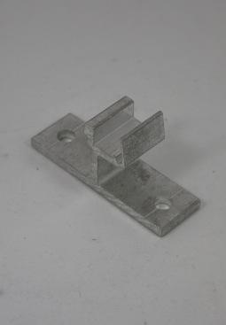 Clickfit Montagebeugel voor een plat dak of damwandprofiel