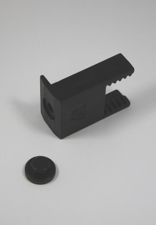 Clickfit eindklem CFA (zwart)