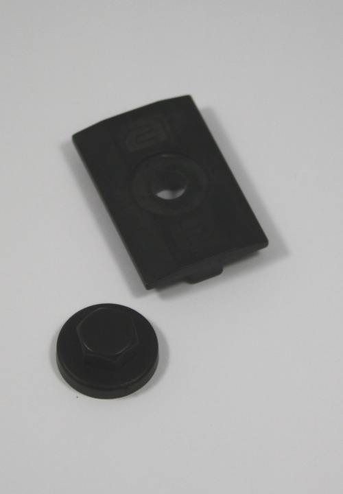 Clickfit module klemplaat (zwart)