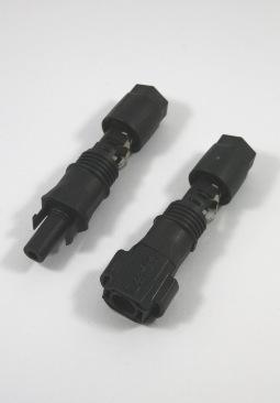 Set van 2 Sunclix connectoren (male&female) tbv SMA SB&SMC