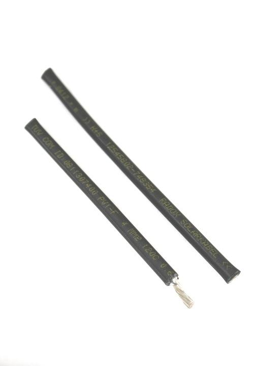 Batt Solarkabel zwart 4mm2