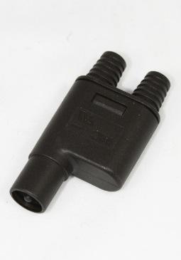 MC-3 splitterstekker (1x stekker, 2x plug)
