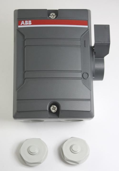 ABB Werkschakelaar 1-fase 3-polig 25A