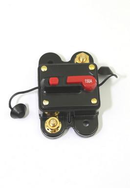 Zekering automaat voor gelijkstroom, met reset en schakelaar, 150A
