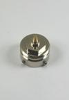 Metalen adapter speciaal voor Danfoss thermostaatkranen met RAVL bevestiging