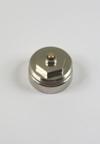 Metalen adapter speciaal voor TA Hydronics thermostaatkranen