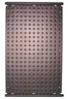 Kunststof zonnecollector 136 x 82 cm, 1,12 m2