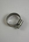 RVS slangenklem tbv slang 23 - 35 mm diameter
