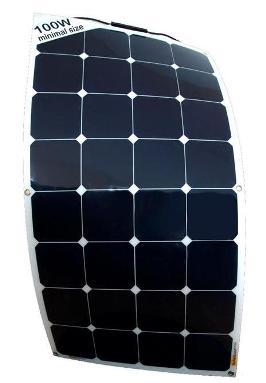 Sunbeam flexibel & beloopbaar zonnepaneel 100Wp, 1060 x 540 mm