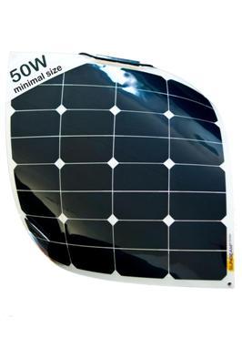 Sunbeam flexibel & beloopbaar zonnepaneel 50Wp, 555 x 535 mm