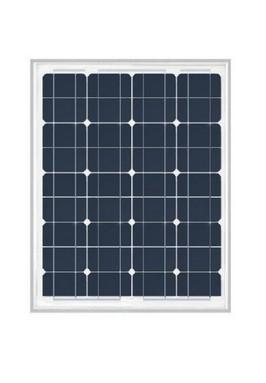 Westecht compact zonnepaneel 50Wp, 668 x 545 x 35 mm