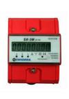 Swissnox 3-fasen kWh meter voor montage op een DIN-rail, electronisch telwerk