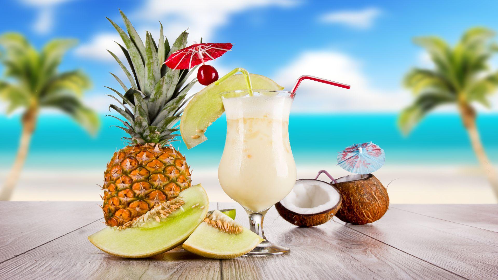Hawaii/Beach/ Tropical thema achtergrond huren.