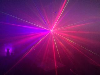 Laser Lichteffect 3 in 1 huren